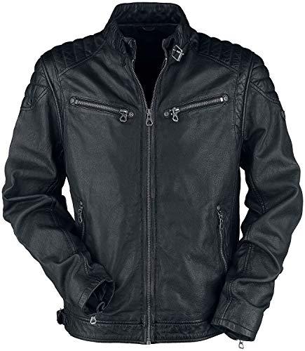 Gipsy Colt W18 Lasanv Männer Lederjacke schwarz 3XL, 100% Leder, Basics, Biker