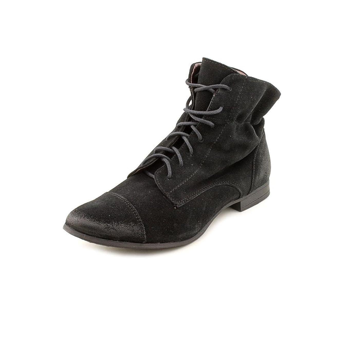 イタリックワインシャーク[Report] Signature Anzuレディースサイズ6.5ブラックファッションアンクルブーツ