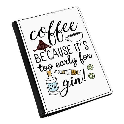 Kaffee weil es Hat Zubehör Early für Gin Pass-Etui Deckel