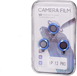 حامي عدسة كاميرا هاتف المحمول ايفون 12 برو - ازرق
