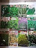 Erbe Aromatiche 240 Semi In 12 Varietà, Collezione 1 + Guida Alla Coltivazione