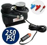 Mini compresor 250 PSI Color para coche bicicleta de camper de camping y otros de alto rendimiento compresor de coche Mini bomba de aire de 12 V 20,7 Bar