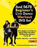 And 5678 Beginner's Line Dance Workout DVD Set