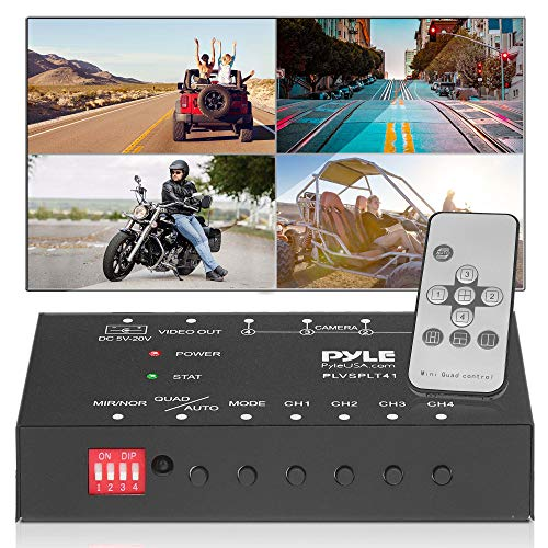 4-Channel Car Video Splitter Controller - Digital Picture Video Signal...