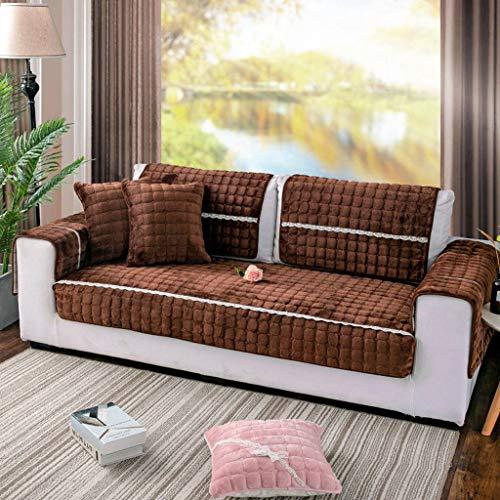 KXGL Gewatteerde Sofa Slipcove, Niet Slip Meubilair Protector Sofa Cover Scratches-Gratis L Vorm Stoelhoezen Voor Huisdieren Katten Honden Sectionele Sofa Hoekbank
