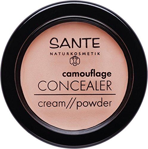 SANTE Naturkosmetik Camouflage Concealer, 01 Beige, Vegan, 1x3g