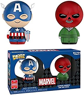Dorbz--Captain America - Captain America & Red Skull SDCC 2018 US Exclusive Dorbz 2-Pack [RS]