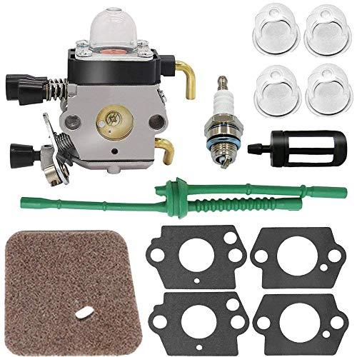 Dafengchui Carburador for el carburador STIHL FS80 - for STIHL FC55 FC75 FC85 FS310 FS38 FS45 FS45C FS45L FS46 FS55 FS55RC FS55T FS74 FS75 FS76 FS (Color : Gray)