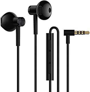 Xiaomi ZBW4407TY Xiaomi Dual Driver Earphones -Global Version-Black-ZBW4407TY - (Pack of1)