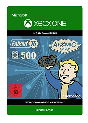 Fallout 76: 500 Atoms | Xbox One - Download Code