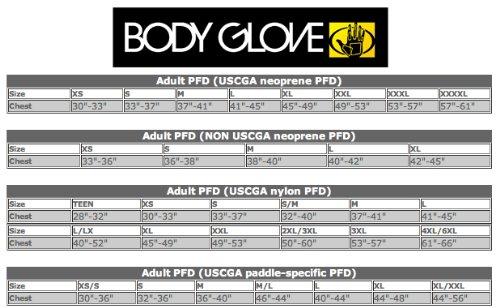 Body Glove Mens Method Life PFD Jacket, Black, XXL/XXXL
