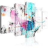 murando - Cuadro en Lienzo 200x100 cm Impresión de 5 Piezas Material Tejido no...