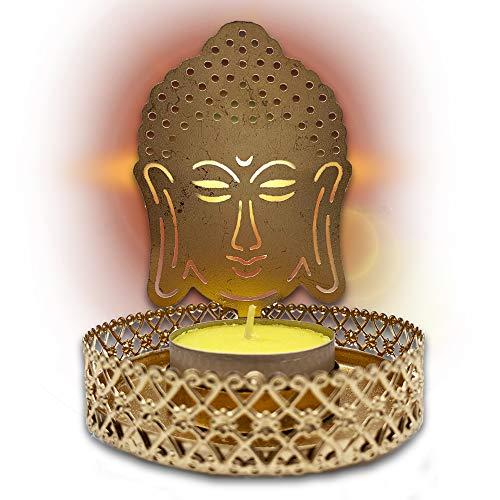 Candelabros Dorados Decorativos De Velas candelabros dorados  Marca Snadi