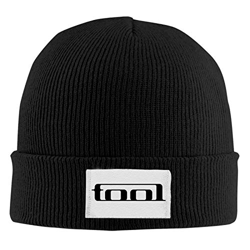 NBVC Tool Band Fashion Acrylic Cuff Knit Cap Men and Women Autumn Winter Warm Beanie Black