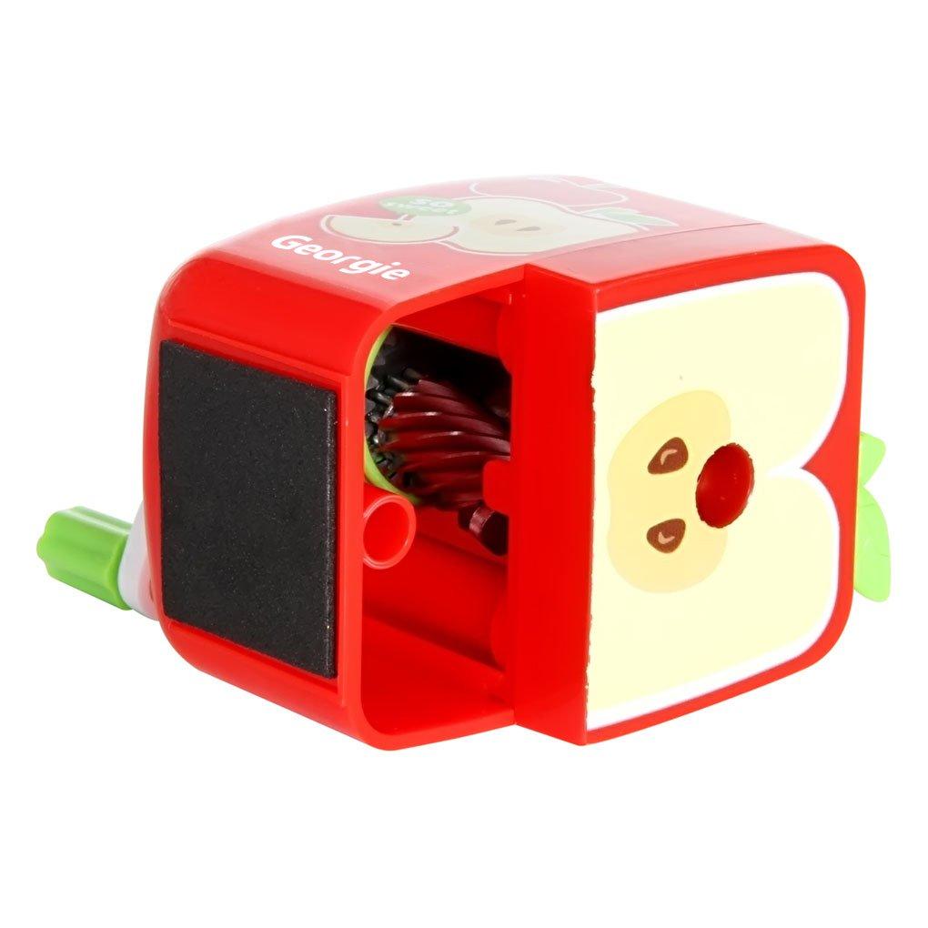 Bao Core Georgie Portable Fruit Series Pencil Sharpener Portable Sharpen Pencil Knife Tool School Things Apple