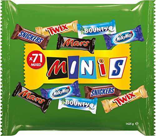 Mixed Mars Mixed Minis 1425 g, 1er Pack (1 x 1.425 kg)