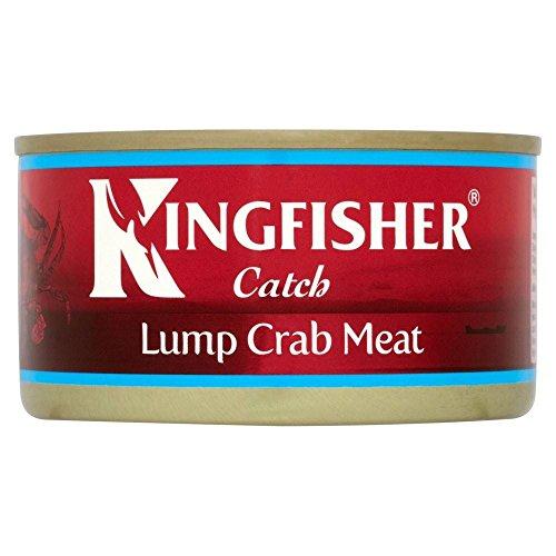Kingfisher Toda La Carne De Cangrejo En Salmuera (170g)