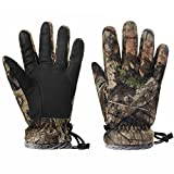 EAmber Camouflage Hunting Gloves Full...
