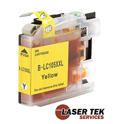 Laser Tek Services High Yield Compatible Ink Cartridge Replacements for Brother LC109BK (Black, 4-Pack) Photo #5