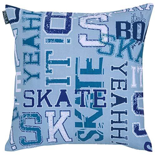 Ilustrando tus Sueños - Funda cojín Skate Sin Relleno - 50x50 Cm