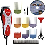picture of Wahl Professional Animal Deluxe U-Clip Pet Grooming Kit 16 pc. set #9484-300