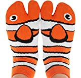 Funny Novelty Socks - Fishy Feet, Perfect Stocking Stuffer, Secret Santa Gift, White Elephant Gift Idea - Unisex - Great Gift for Teenagers, Men or Women