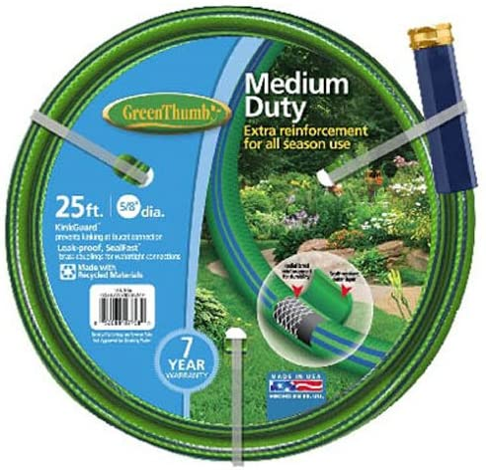 TEKNOR-APEX COMPANY 156 356 Thumb Nylon 8-Inch 5 Max 85% OFF Hose Garden Nashville-Davidson Mall by