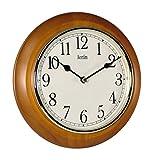 Acctim 24170 Maine Reloj de Pared, Color Cereza