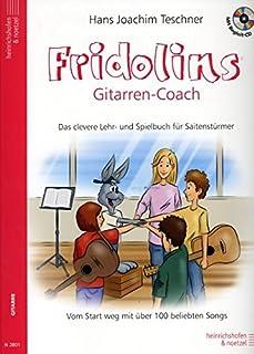 Fridolins Gitaar Coach - gearrangeerd voor gitaar - met CD [Noten / Sheetmusic] Componis: Tessner Hans JoACHIM