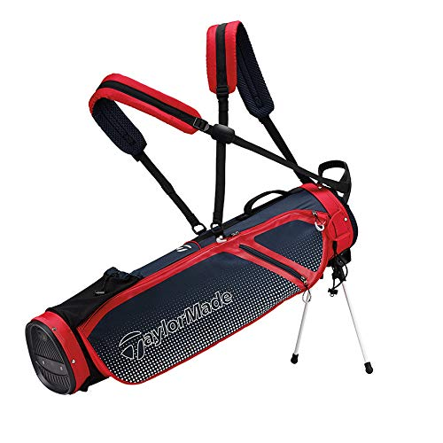 TaylorMade Quiver Stand Bag, Navy/Red