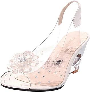 JOJONUNU Women Fashion Peep Toe Sandals