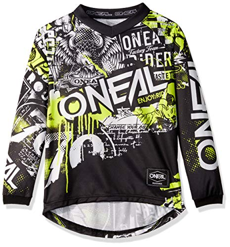 Element Youth Jersey Attack Black/neon Yellow, S