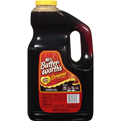 Mrs. Butterworth's Syrup, Original, 128 Fl Oz - $6.82 w/ fs for prime.