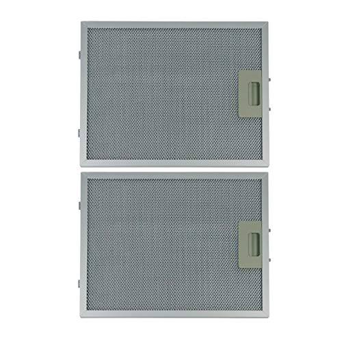 Respekta MIZ 2009 Fettfilter Metallfilter 320x260mm für Dunstabzugshaube 2Stk