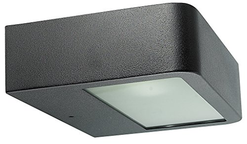 Rabalux 8550 Omaha, buitenwandlamp, mat zwart