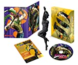 Bizarre Adventure Jojo's Vol.8 (Santana Type USB Memory Entering the Air Supply Pipe, Whole Volume Purchase Bonus Figure with Entry Ticket) (First Press Limited Edition) [Blu-ray]