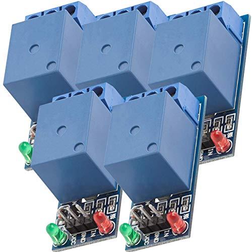 AZDelivery 5 x 1-Relais 5V KF-301 Modul Low-Level-Trigger kompatibel mit Arduino inklusive E-Book!