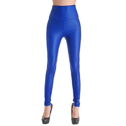 2208cc656738ae Diamond Candy Women's Faux Leather High Waisted Leggings 20 Colors