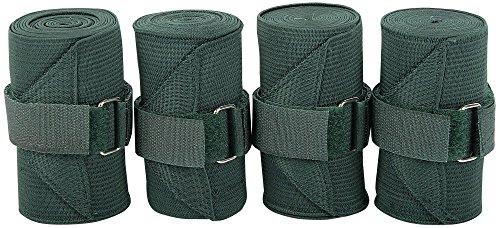 Harry's Horse Bandages elastisch, 4 st, Farbe:Olive