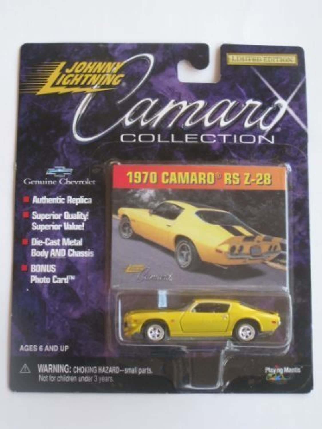 Johnny Lightning Camaro Collection 1969 COPO Camaro 427 by Johnny Lightning