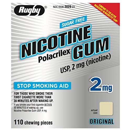 NICOTINE GUM 2 MG KIT *RUG 110