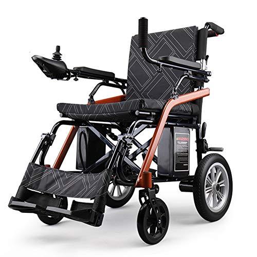 Zzuu Ultralichte opvouwbare rolstoel/De lichtste rolstoel, rolstoel Li-Ion batterij voor oudere en gehandicapte mensen