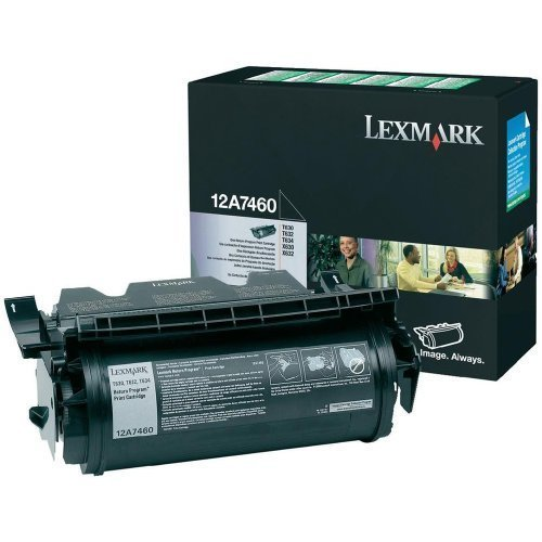 Original Toner Lexmark 12A7460 Lexmark T630 T632 T634 (5.000 Seiten)