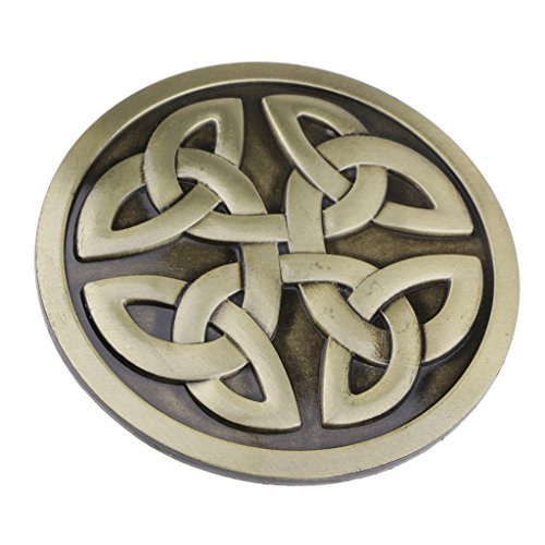IPOTCH Vintage Style Zinc Alloy Belt Buckle for Casual Jeans - #6, as described