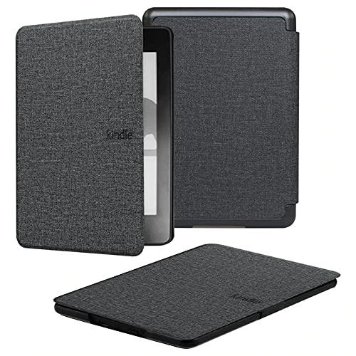 Capa + Pelicula para Novo Kindle Paperwhite (Apenas Versão à prova d'água) Função Hibernação (Preta)
