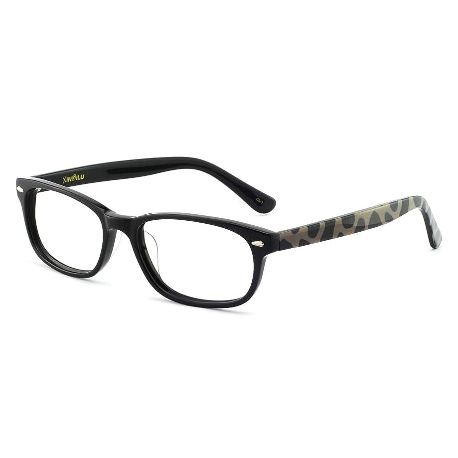 OCCI CHIARI Rectangle Stylish Non-prescription Optical Women Eyewear Frame With Clear Lens