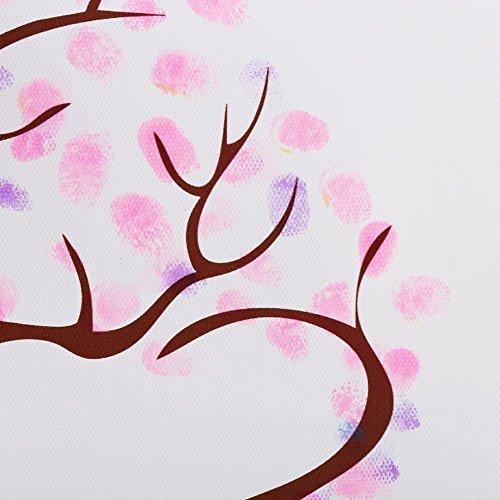 4 Tipos árbol de la Huella Digital Libro de visitas de Encargo...