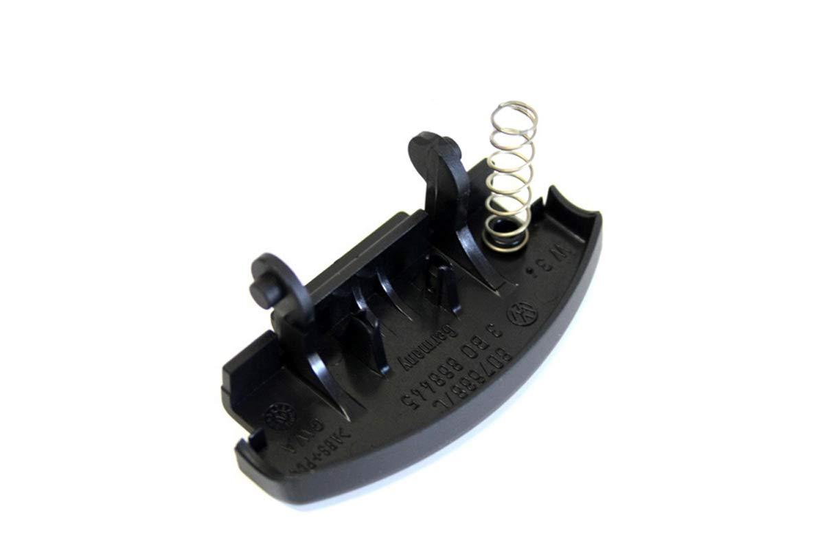 Original Volkswagen Juego de reparación botón de Apoyabrazos para modelos (Golf 4 Bora Passat) negro: Amazon.es: Coche y moto