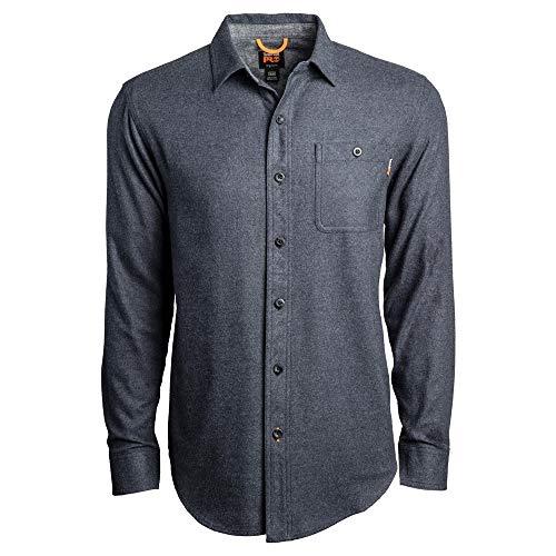 Timberland PRO A1V49 Woodfort Camisa de trabajo de franela de peso medio para hombre