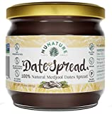 NUNATURE 100% Natural Dates Spread - Pure Medjool Dates, Gluten & Sugar Free, Vegan, Paleo Friendly,...